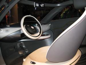 Interieur toekomstauto