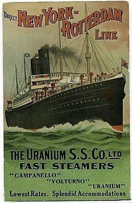poster van Uranium Steamship Company