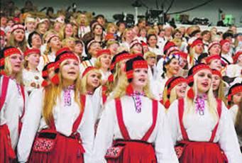 Megasongfestival in Tallinn: een belevenis