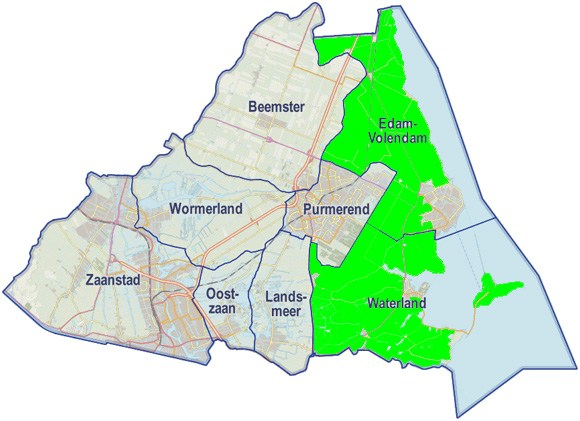 Doorpakken in Waterland